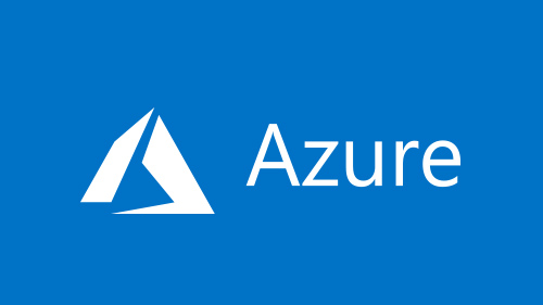 Microsoft Azure logo in blue